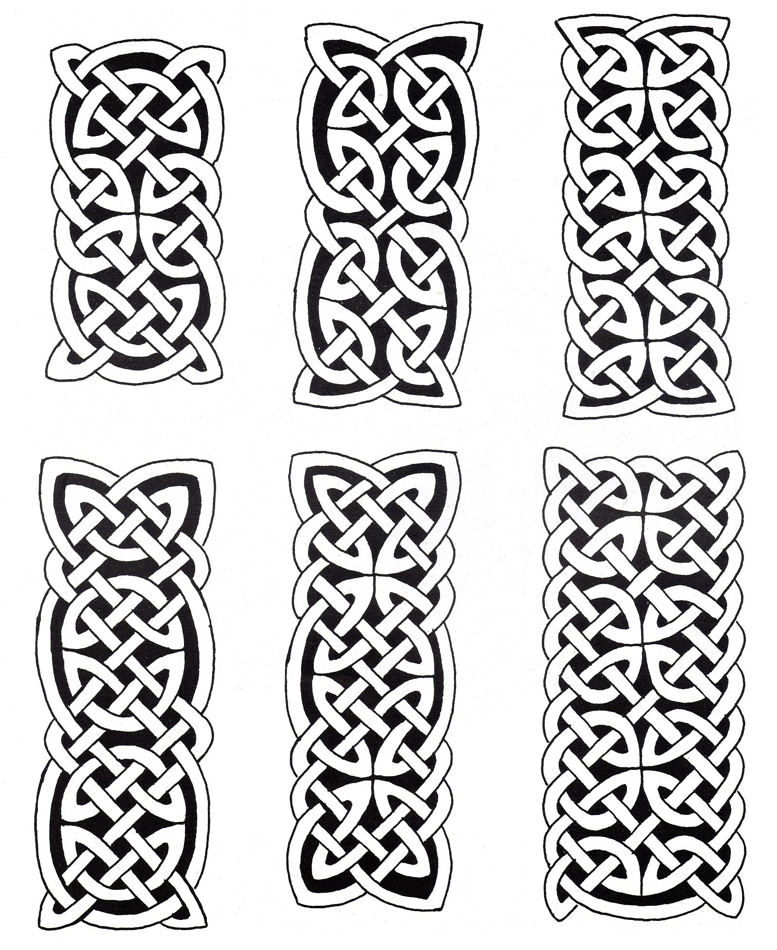 6 Celtic art designs