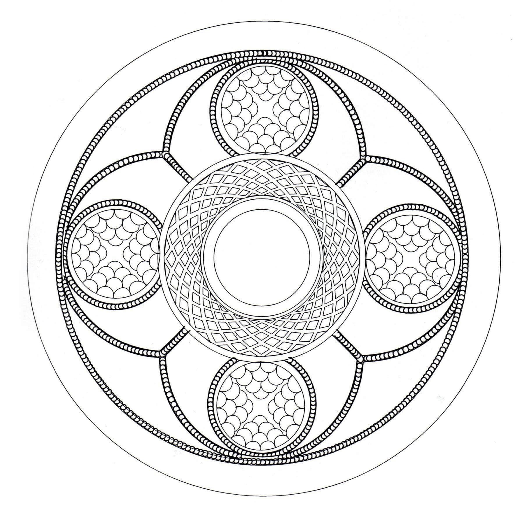 Celtic art design looking like a Mandala