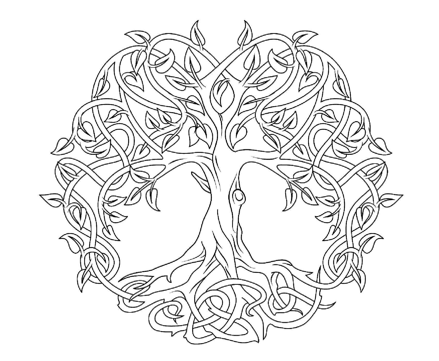 The Tree of life (Celtic Art)