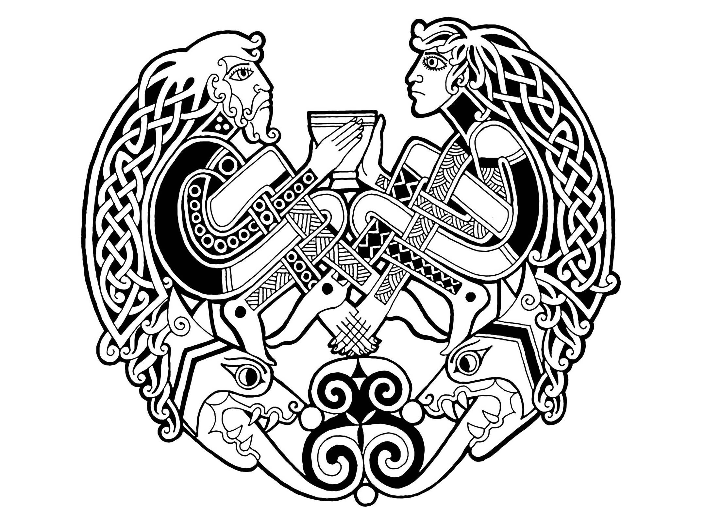 Celtic Art 65 Celtic Art Adult Coloring Pages