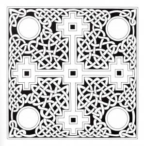 Coloring celtic art 22
