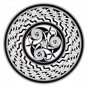 Coloring celtic art 42