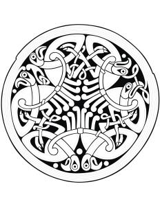 Coloring celtic art 56
