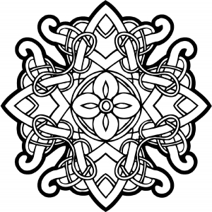 Coloring celtic art 64