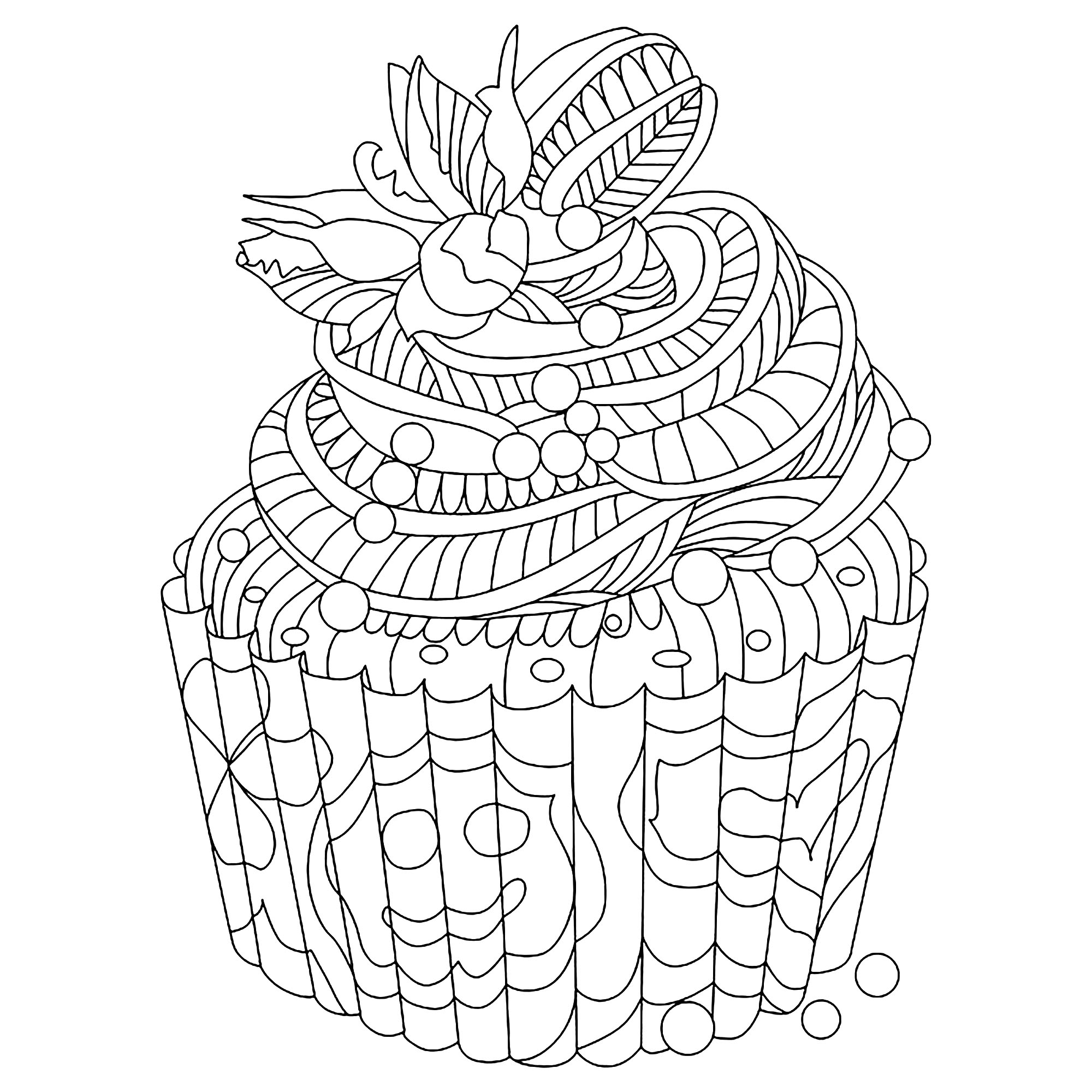 Perfect mix between doodle and zentangle, you're gonna love it !