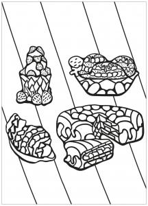 coloring free book cupcake 11