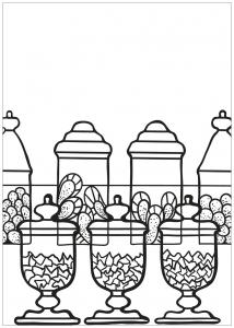coloring free book cupcake 4