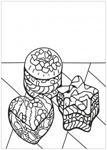 coloring free book cupcake 9
