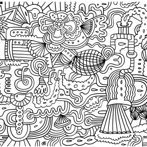 A Great Example Of Doodle Art