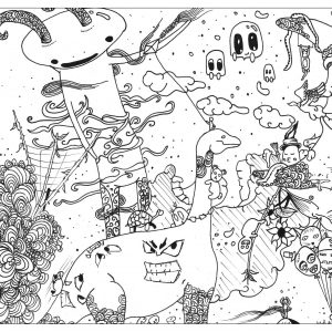 A World Of Doodle That You Think