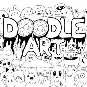 coloring page adults doodle art rachel