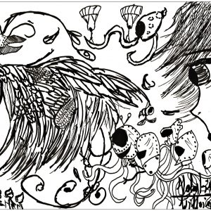 Here Is A Doodling Very Crazy By Valentin