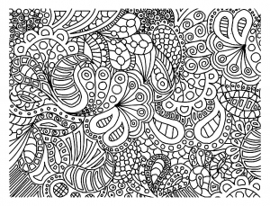 Doodling / Doodle art - Coloring pages for adults | JustColor - Page 3