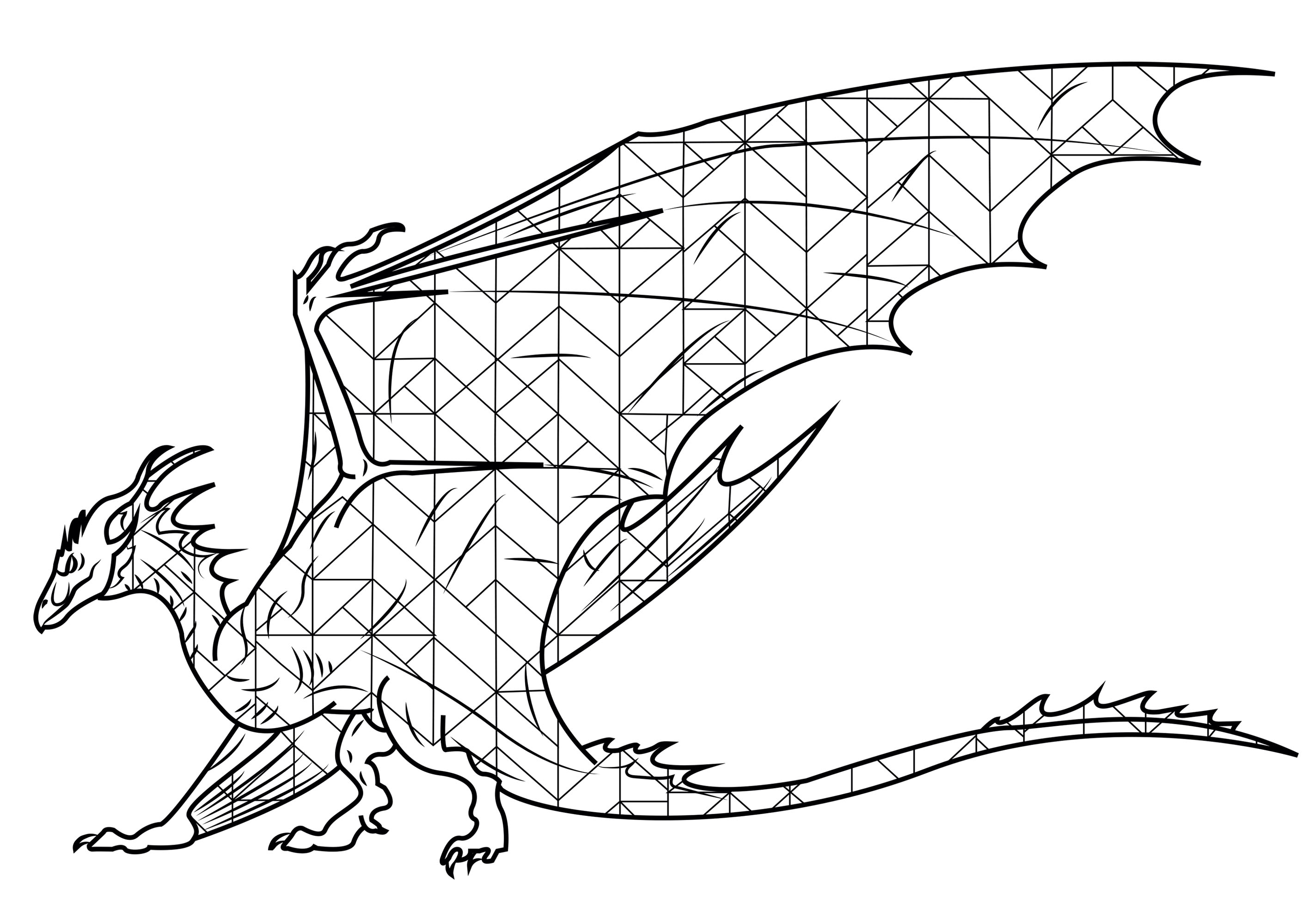 Wyvern : a legendary creature with a dragon's head and wings.