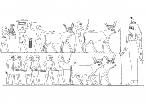 Egypt Hieroglyphs Coloring Pages For Adults