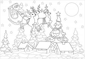 Top 27 Places to Print Free Christmas Coloring Pages | 209x300