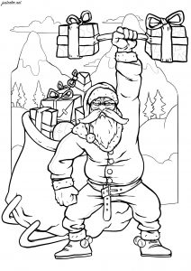 What Do You Want For Christmas? Coloring Pages - Super Simple | 300x212