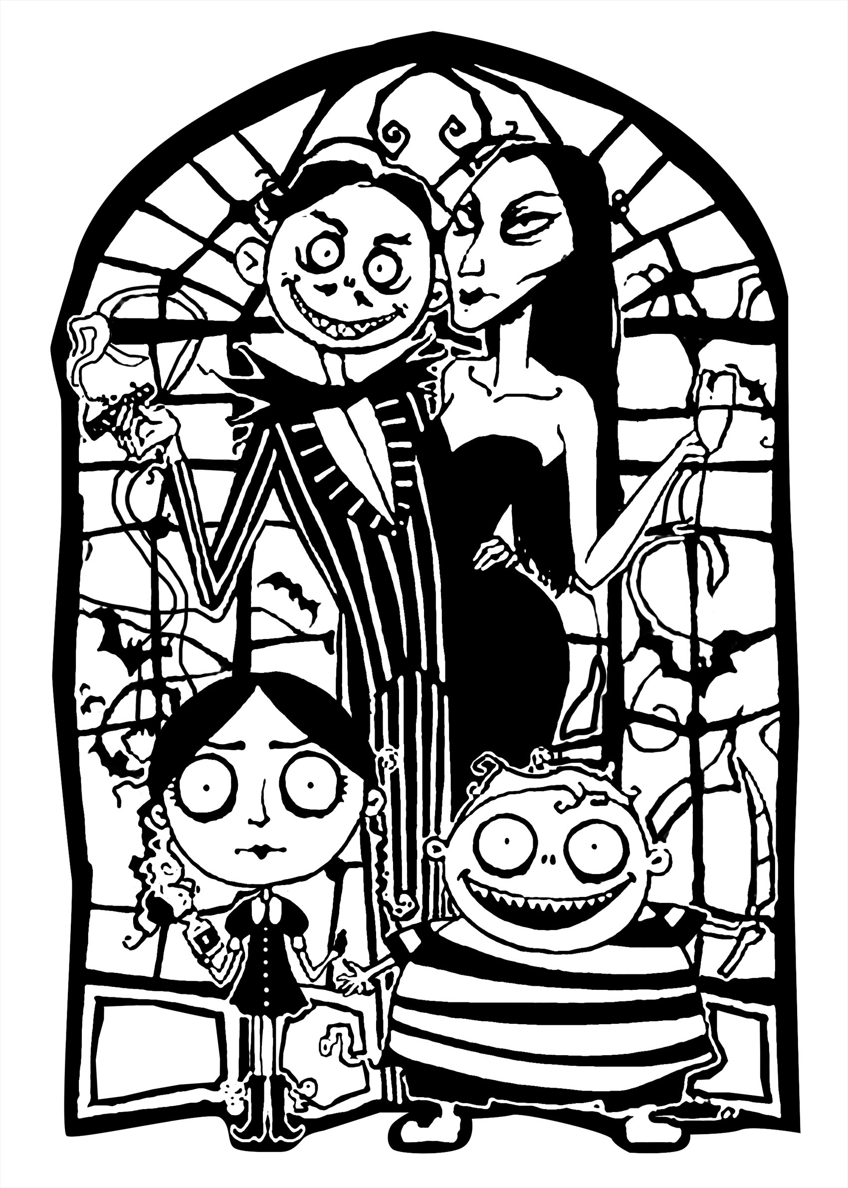 Horror Coloring Pages For Adults