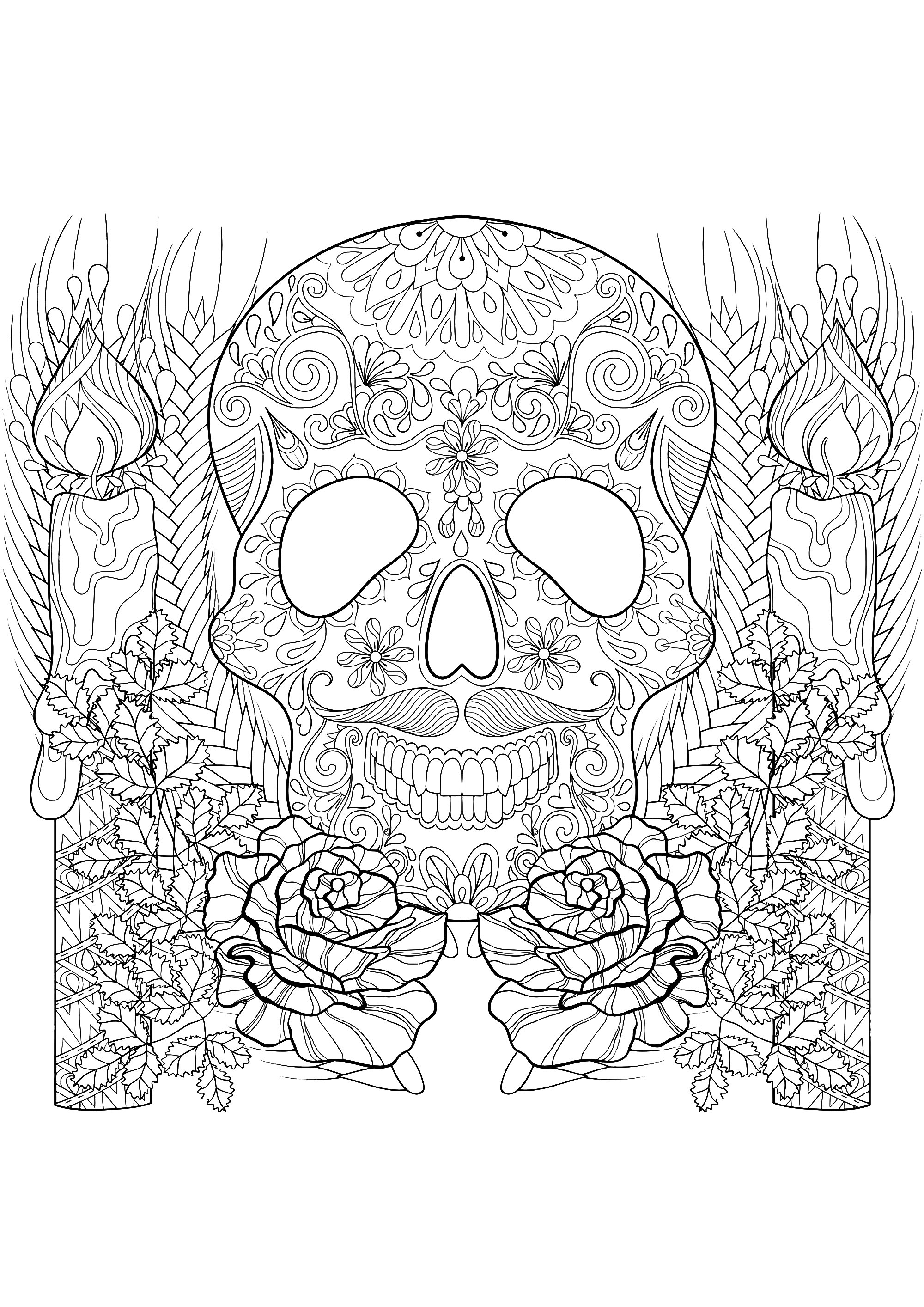 printables coloring pages for adults - photo#42