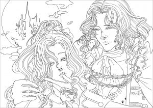 Alucard and Maria   Version facile