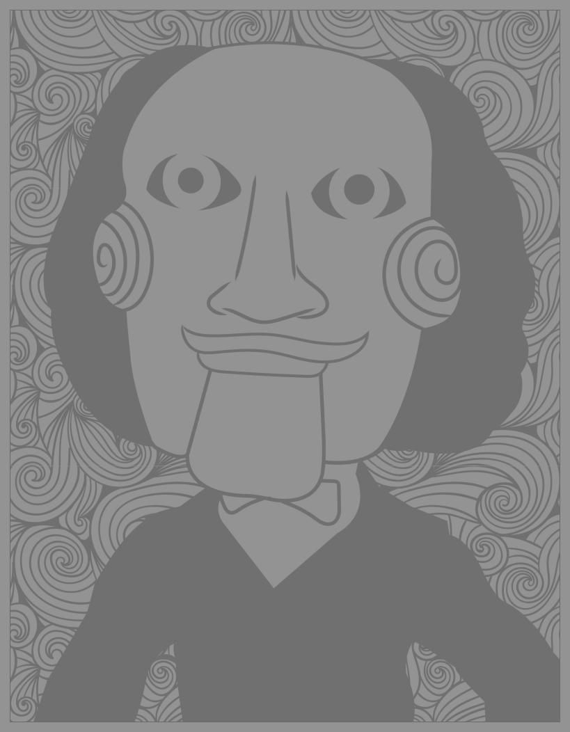 Classic horror movies coloring pages : Billy the Puppet / Jigsaw (Saw movies) (Source : Costume SuperCenter. Find Billy the puppet costumes here)