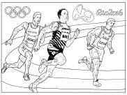 Sport / Olympics Coloring Pages for Adults