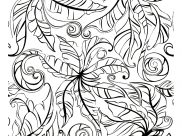 Flowers & vegetation Coloring Pages for Adults