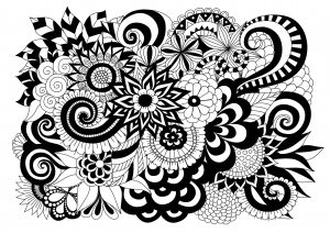 coloring-black-and-white-flowers-by-bimdeedee
