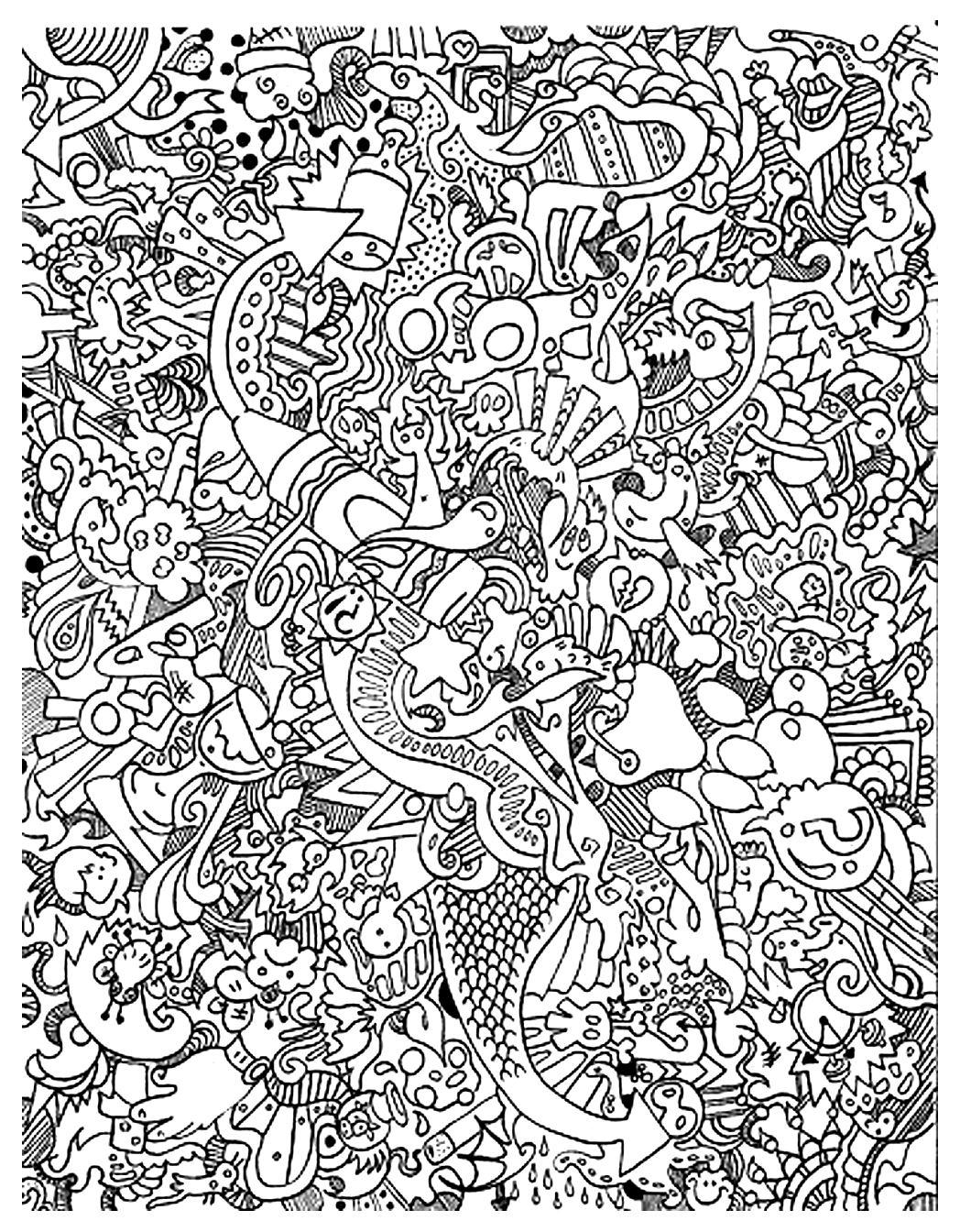 Big mess - Image with : Imaginary world
