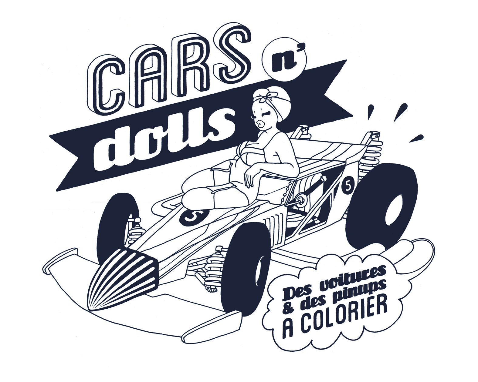 Coloring for adults cars - Cars N Dolls Image With Car From The Gallery Unclassifiable