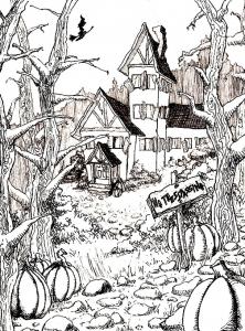 Old strange house