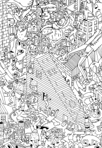 Unclassifiable Coloring Pages For Adults Justcolor Unclassifiable Coloring Page
