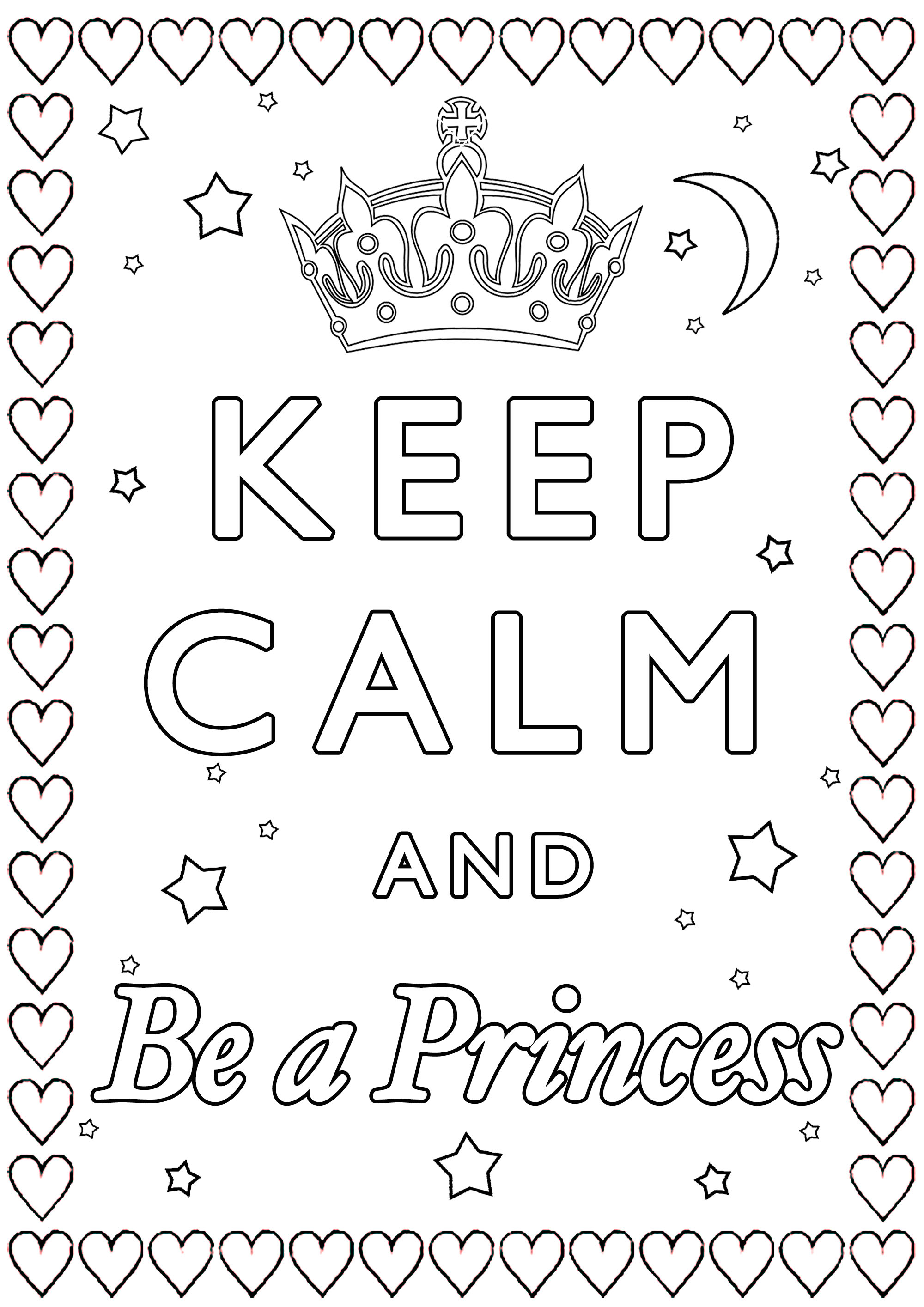 Keep Calm and be a Princess : Are you ready to enter in the world of dreams ?