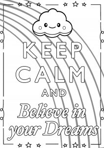 Keep calm and … - Coloring Pages for Adults