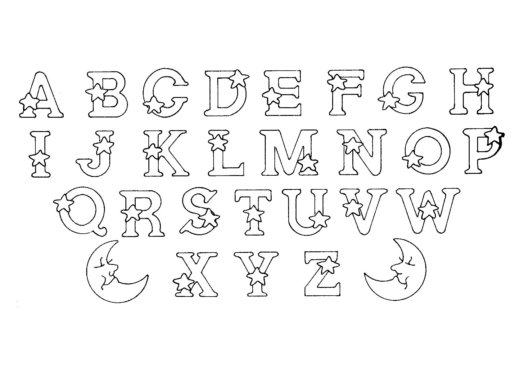 alphabet alphabet coloring pages for kids to print amp color