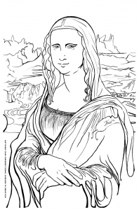 Art Coloring pages for kids to print color