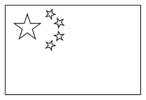 Flags Coloring pages for kids to print color