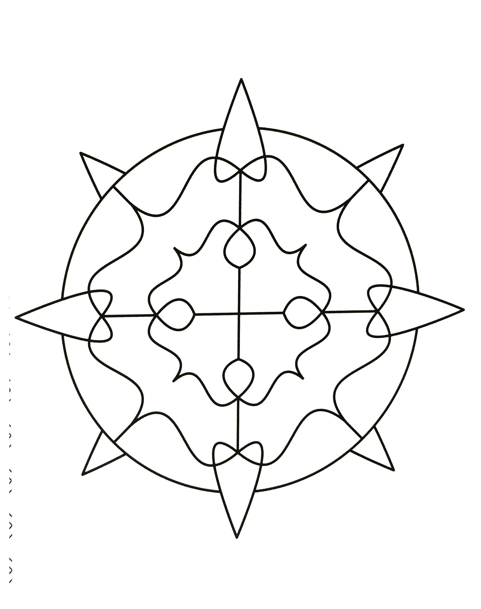 Simple mandala 38