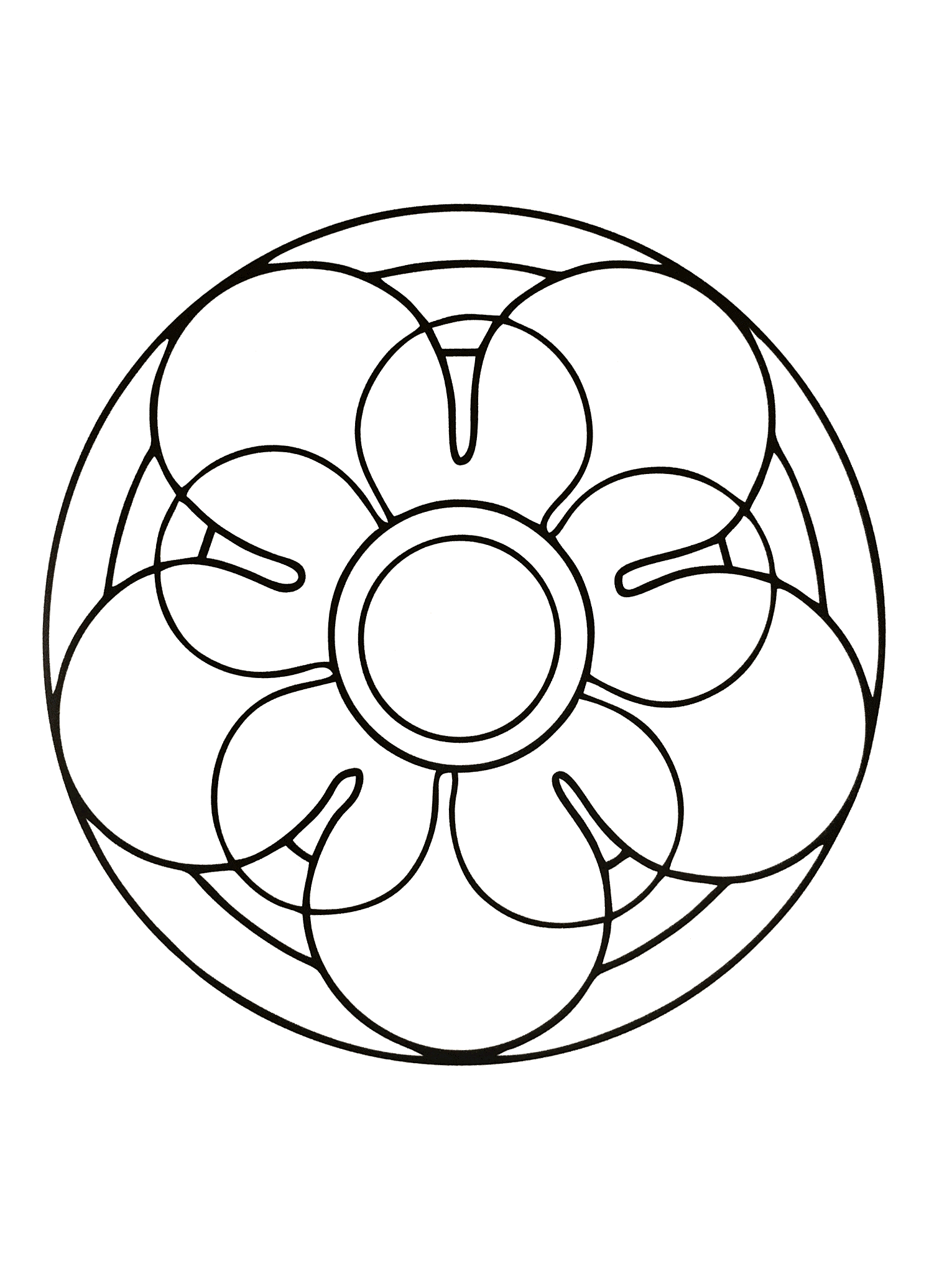 simple mandala 39 m alas coloring pages for kids to print color. Black Bedroom Furniture Sets. Home Design Ideas