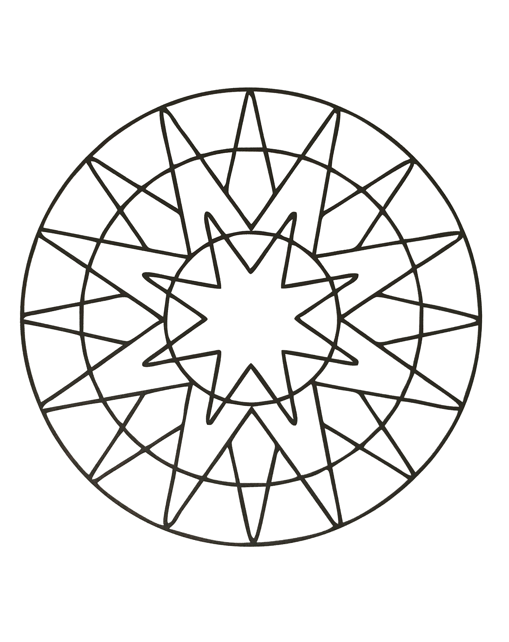 Simple Mandala 60 M Amp Alas Coloring Pages For Kids To
