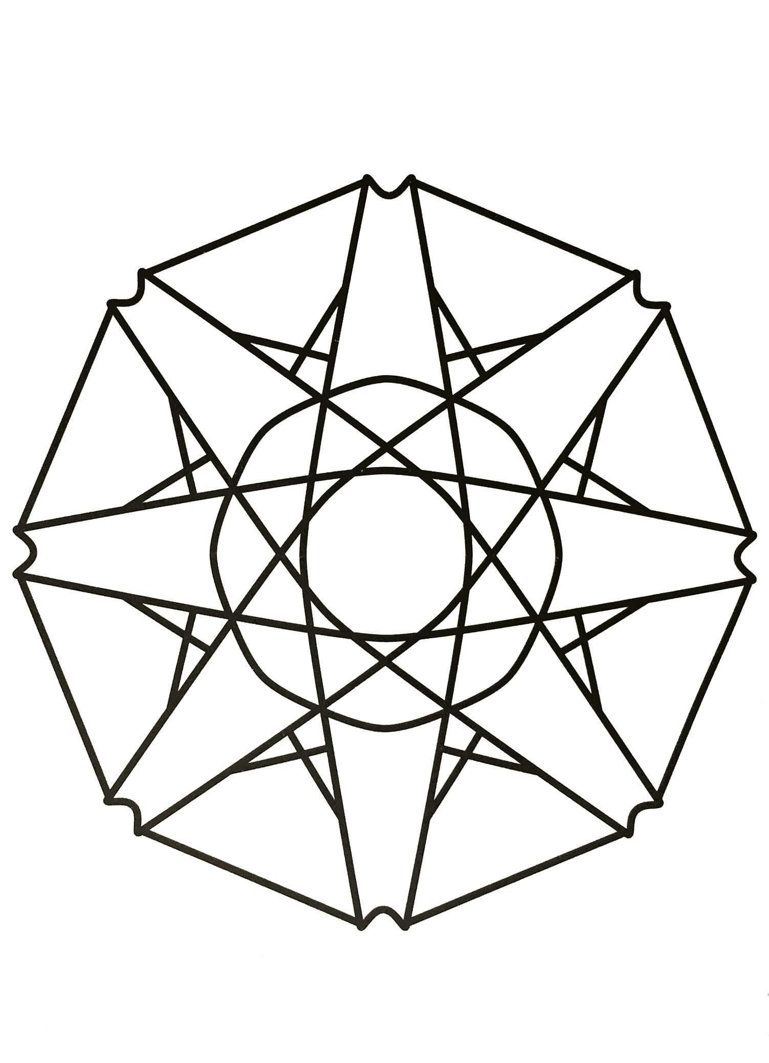 Simple Mandala 68