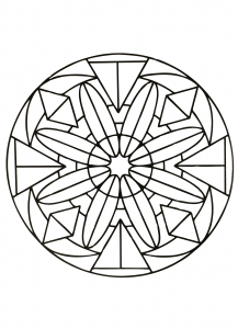 coloring-page-simple-mandala-50