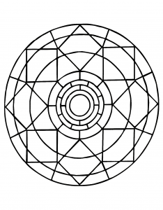 coloring-page-simple-mandala-63