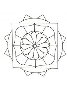 coloring-page-simple-mandala-82