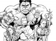 Books & Comics Coloring Pages for Adults