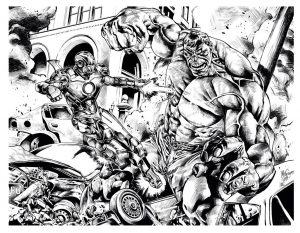 Books And Comics Coloring Pages For Adults