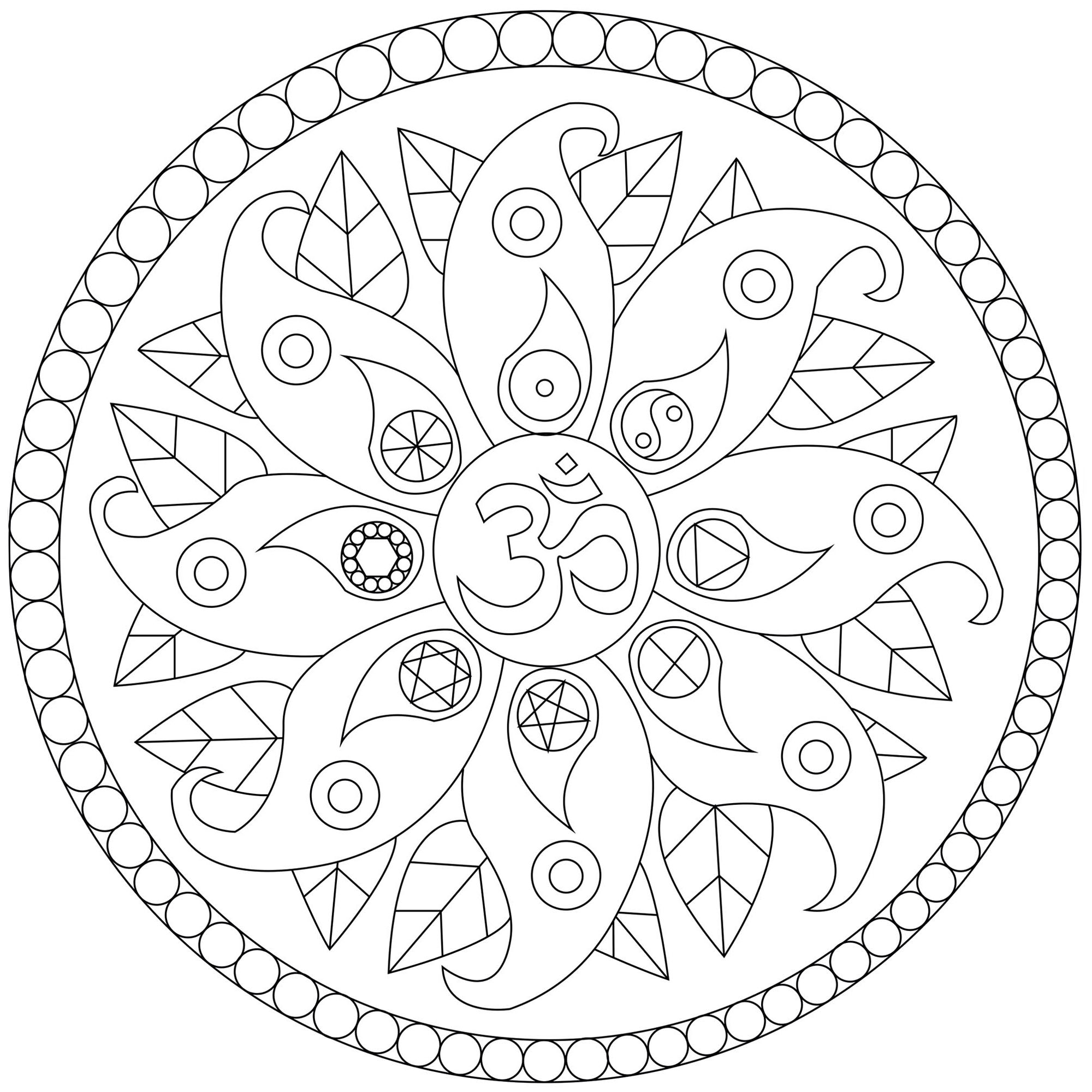 Peace Coloring Pages | Peace sign drawing, Peace sign art ... | 2000x2000