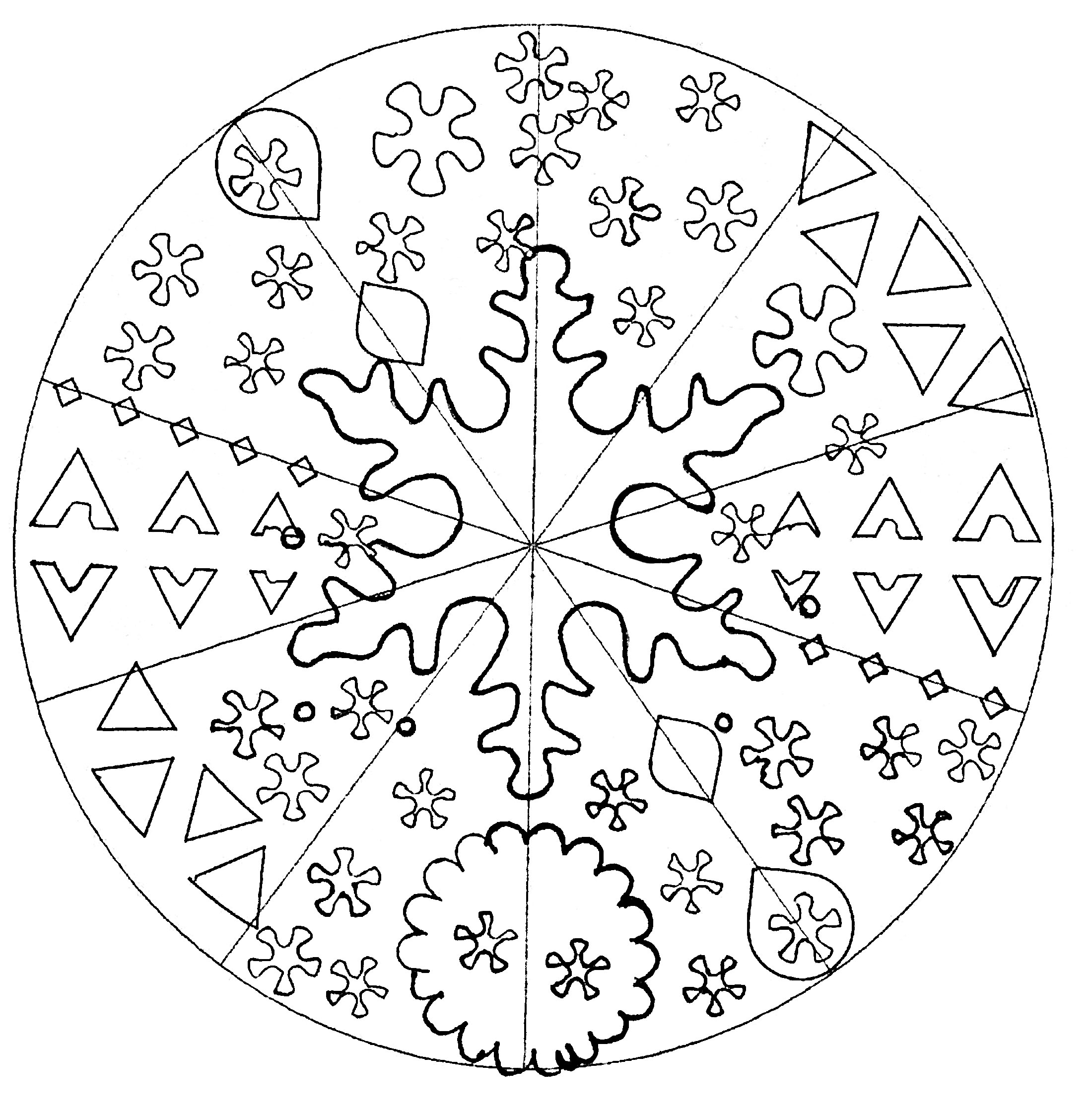 Childish Mandala