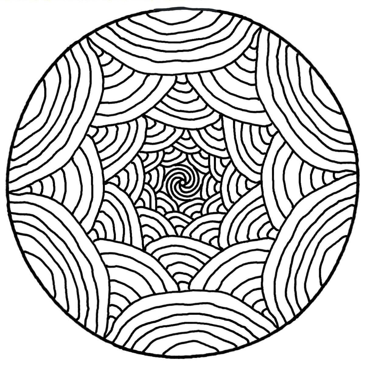 Mandala - M&alas Adult Coloring Pages - Page 6