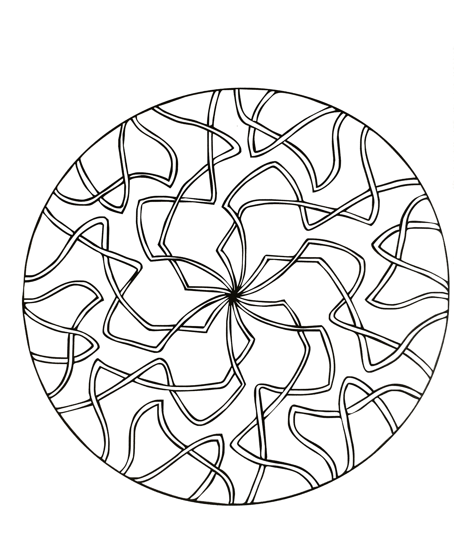 Mandalas to download for free 15 - M&alas Adult Coloring ...